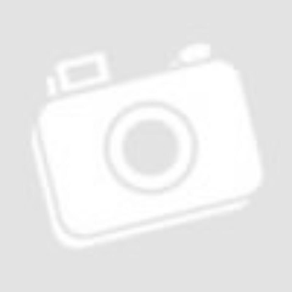 Türkizkék fonott üveggombos bőrhatású karkötő